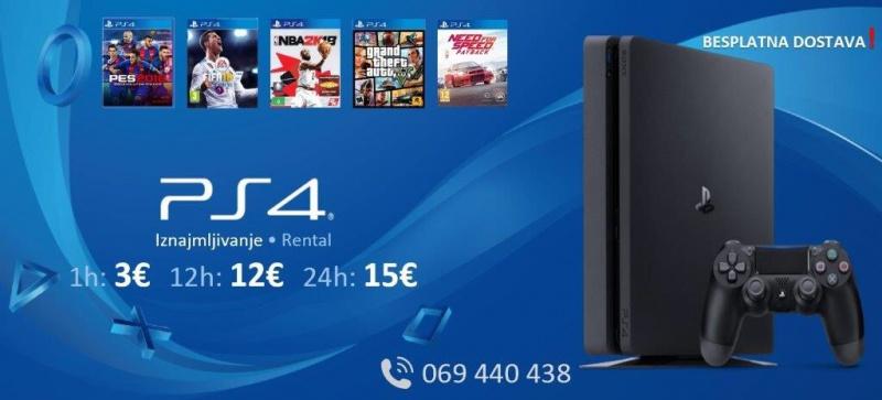 Izdajem Sony PlayStation 4