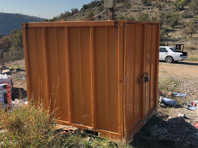 građevinski kontejner - aluminijumski