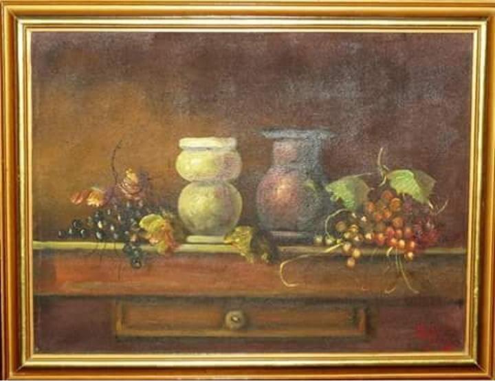 umjetnicka slika RADE LAKETA , ulje na platnu