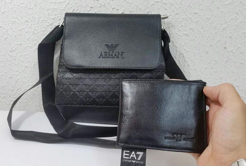 Armani torbica i novcanik