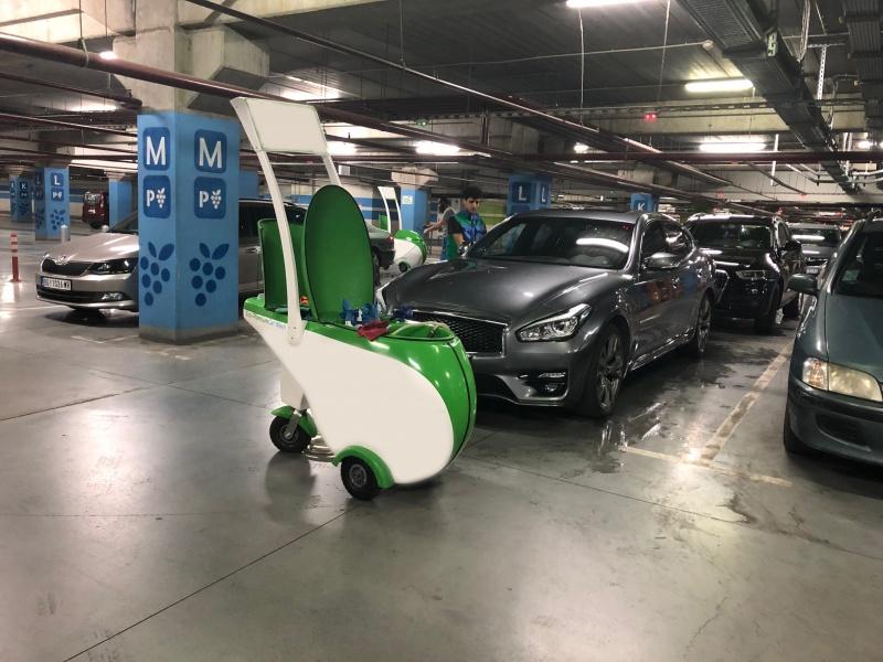 Mašina (sistem) za suvo pranje vozila